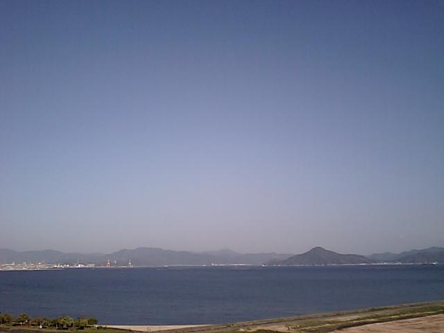 空が青くて気持ちの良い日